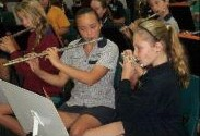 Instrumental music camp